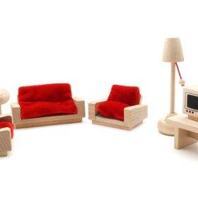 Продам деревянную кукольную мебель