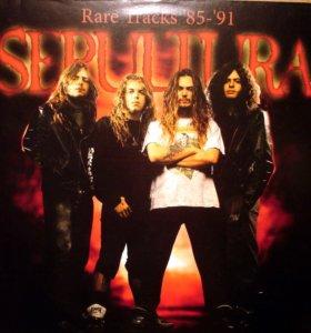 Sepultura-Rare Tracks '85-91'(пластинка виниловая)