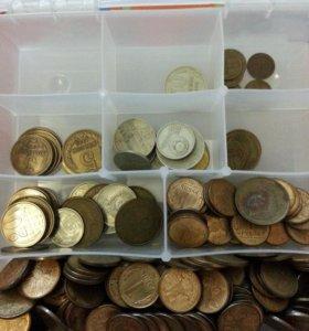 Старые монеты и рубли