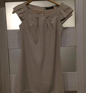 Шерстяное платье love republic