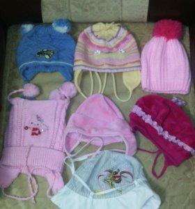 Шапки для малышей