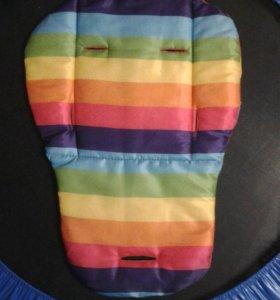 Непромокаемый коврик в коляску