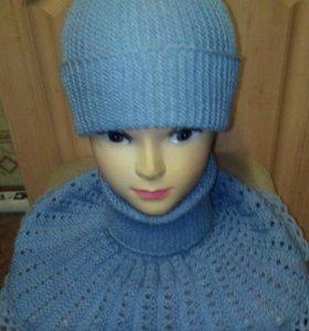 Манишка + шапка бини