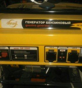 Генератор бензиновый GE 2500, 2,5 кВт, 220В/50Гц,