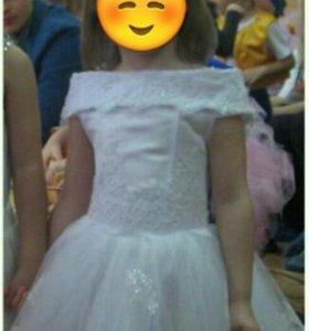 Платье Костюм снежинка