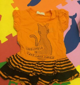 Платье-туничка новое на 1,5-2 года