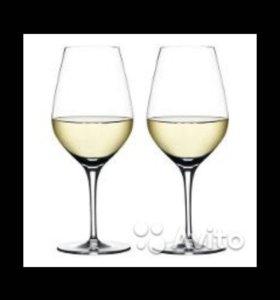 Новы набор бокалов для белого вина.(4шт.).