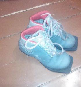 Лыжные ботинки 32р