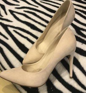 Новые туфли лодочкой