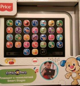 Обучающий планшет Fisher Price с технологией Smart