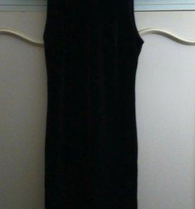 Платье темно бордовое