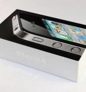Коробка от iPhone 4 белый на 16 гб