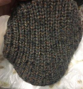 Зимняя брендовая кепка