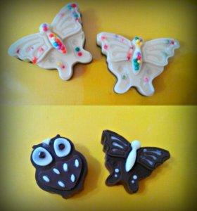 Красивые шоколадные конфеты)