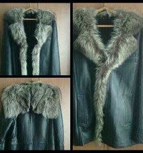 Куртка кожная мужская