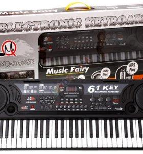 Синтезатор с микрофоном. Электронное ПианиноMQ-809