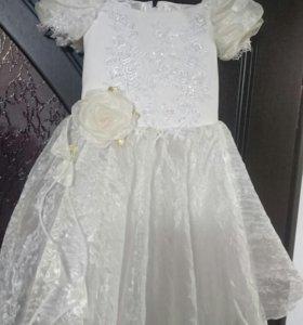 Нарядное платье для принцессы!!!
