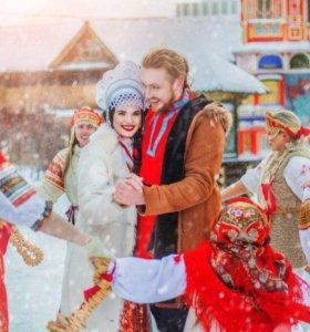 Свадьба в русском стиле. Аренда