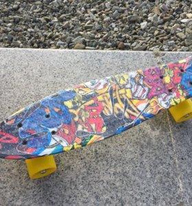 Новые скейты Пенни