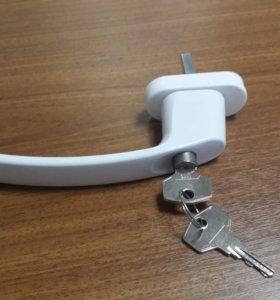 Ручка пвх с ключом