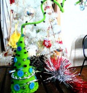 Декоративные елочки