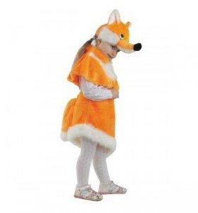 Карнавальный костюм Лиса Алиса размер 28