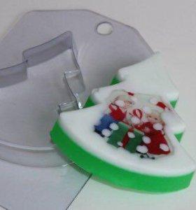 Пластиковые формочки для шоколада и мыла