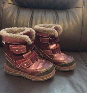 Ботинки зимние котофей размер 27