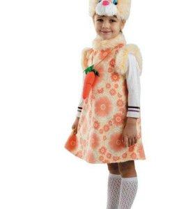 Карнавальный костюм Зайка Липси размер 28