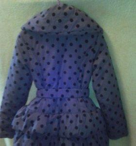 146см. Куртка демисезонная