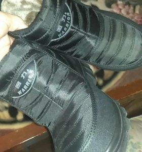 Зимняя теплая обувь