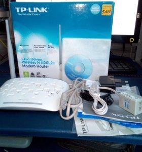 Wi-Fi  Роутер (ADSL)