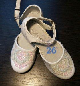 Туфли р.26