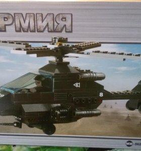 Конструктор ''Военный вертолет''