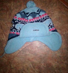 Зимняя шапка на мальчика