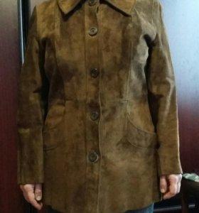 Куртка замшевая