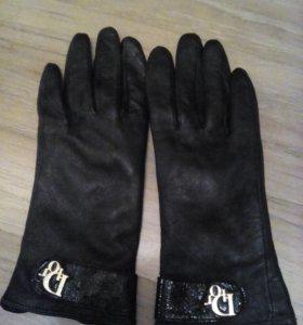 Перчатки натуральная кожа 18 (xs)