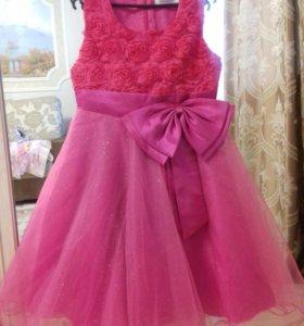 Платье для принцессы 130-134