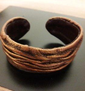 Новый кожаный браслет