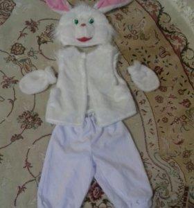 Новый костюм зайки