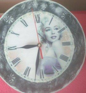 Часы-декупаж в наличии
