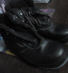 Ботинки рабочии))