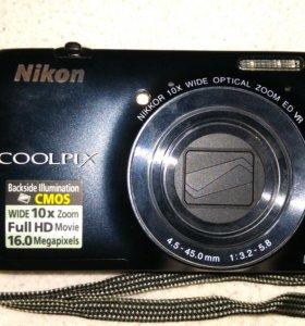 Фотокамера Nikon coolpix S6300