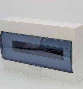 Бокс щрн-П-18мод. навесной пластик IP40 иэк