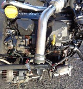 Двигатель k9k 724 1.5 dci renault scenic