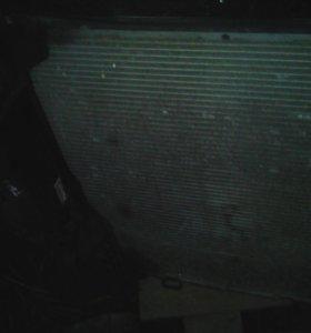 Радиатор. Бмв х-5 е-53