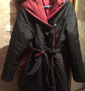 Куртка тёплая 46
