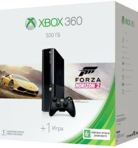 Новая приставка Xbox 360 500Gb+Forza Horizon 2