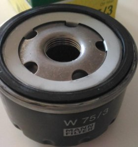 Масляный фильтр Mann W75/3 Рено