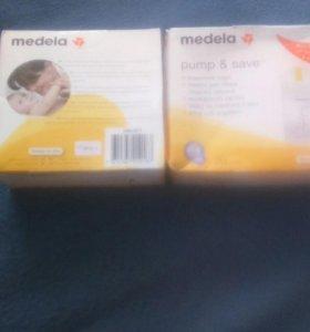 Одноразовые пакеты Medela Pump&Save для хранения м